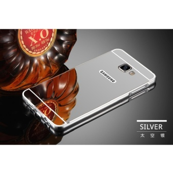 Metal Bumper and Mirror PC Back Cover For Sam sung Galaxy A3 2016 / A310 -