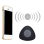 Mini Triangle Wireless Bluetooth Waterproof Hands free Shower Bath Speaker with Suction Cup for iPhone 6 6S Samsung Note 4 Note 3 Galaxy S7 Black intl