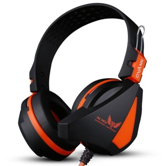 Ovann X16 Professional Esport Gaming Stereo Bass Headset HeadphoneEarphone Over Ear 3.5mm Wired with Microphone