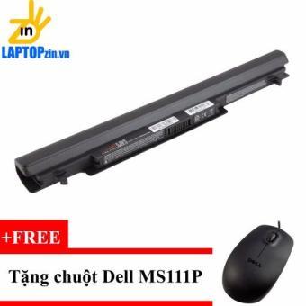 Pin Laptop ASUS S550CA S550CB S550C S405- 4cell – 2600mAh – 14.8 V (đen) (tặng chuột Dell)