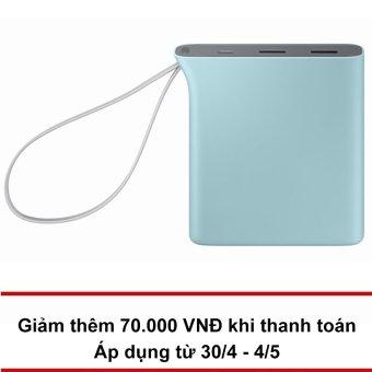 Pin sạc dự phòng Samsung Kettle 10.200 mAH (Xanh) - Hãng phânphốichính thức