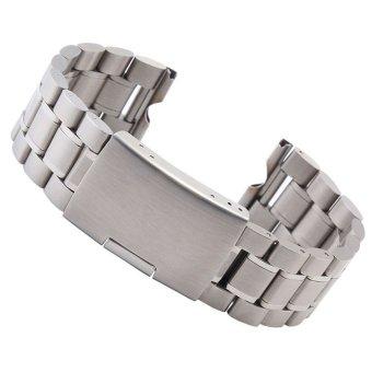 Stainless Steel Watch Band for Motorola Moto 360 Smart Watch Tools Siver 22mm