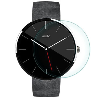 Tempered Glass LCD Screen Protector Film for Motorola Moto 360 Clear