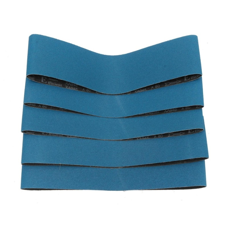 1 Pack Premium Zirconia Sanding Belts 120x50cm 80 Grit For Metal Wood Grinding - intl