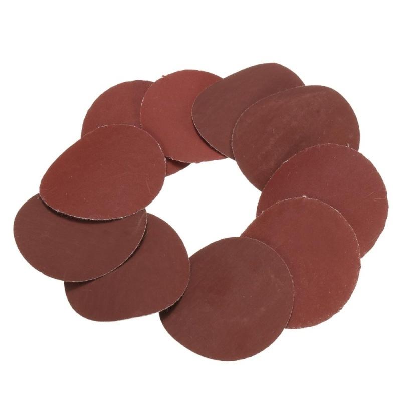 10x 50mm 2inch Sanding Discs Sandpaper 2000 Grit - intl