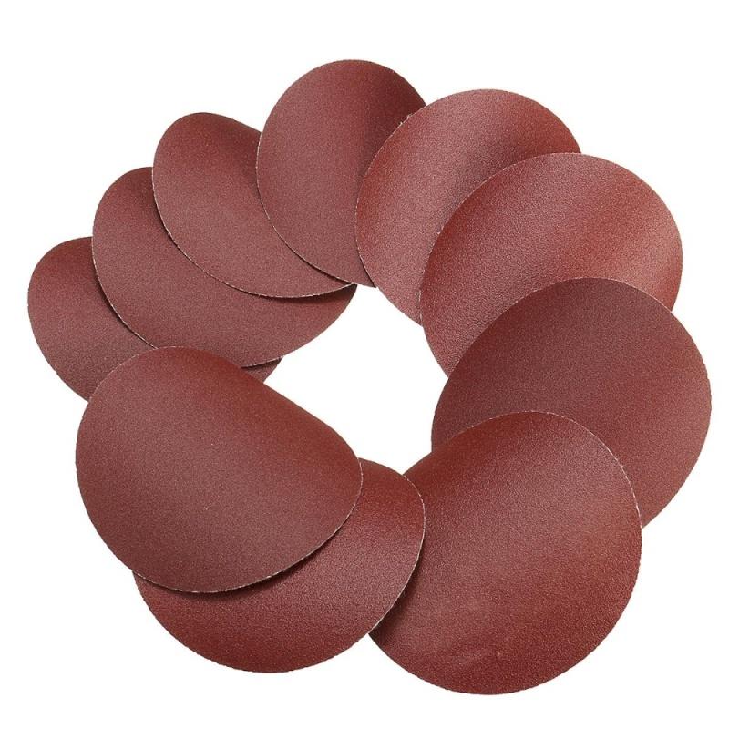 10x 75mm 3inch Sanding Discs Sandpaper 240 Grit - intl