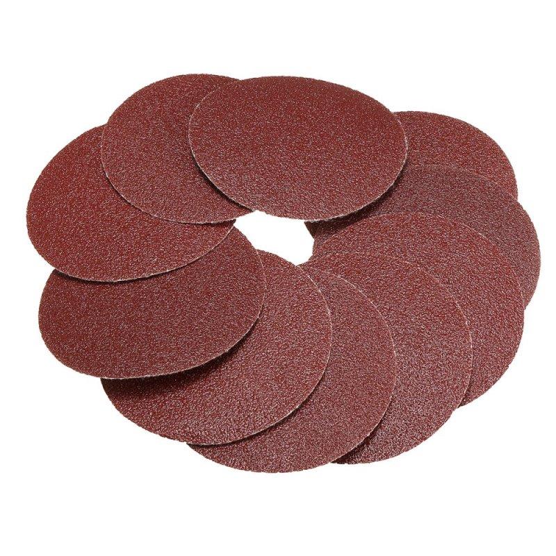 10x 75mm 3inch Sanding Discs Sandpaper 80 Grit - intl