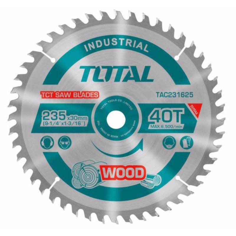 254mm Lưỡi cưa gỗ hợp kim 60 răng Total TAC231723