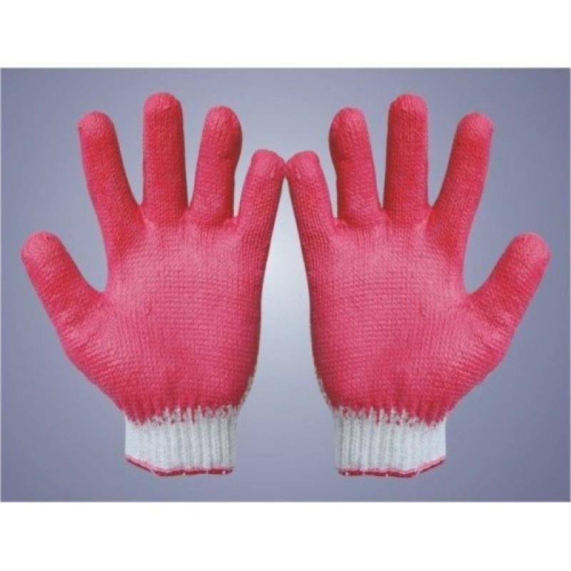 5 Đôi Găng tay len phủ cao su kim 10