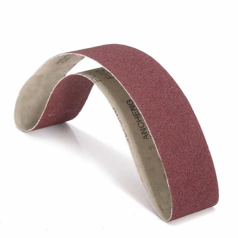 5Pcs 50x686mm Sanding Belts 60Grit Belt Sander Power Tools - intl