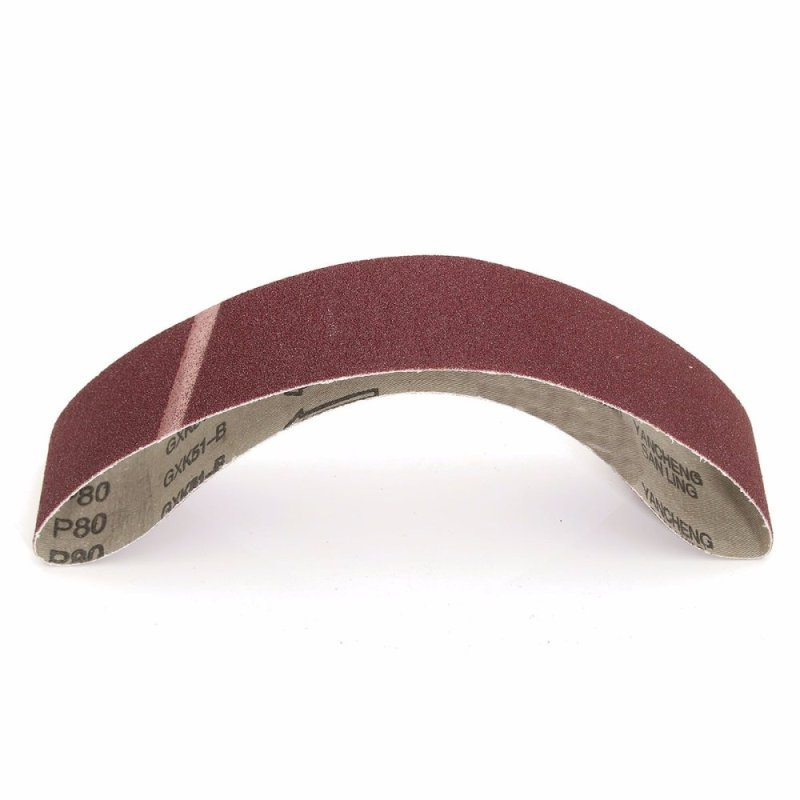 5Pcs 50x686mm Sanding Belts 80Grit Belt Sander Power Tools - intl