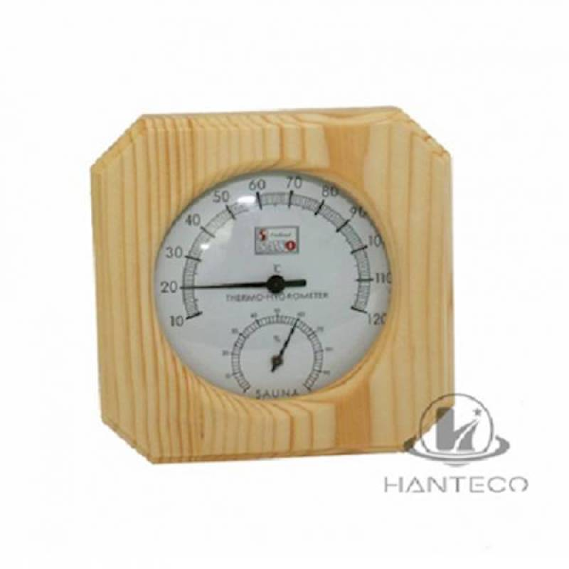 Ẩm Kế Nhiệt Kế Wooden Temperature And Moisture Meter