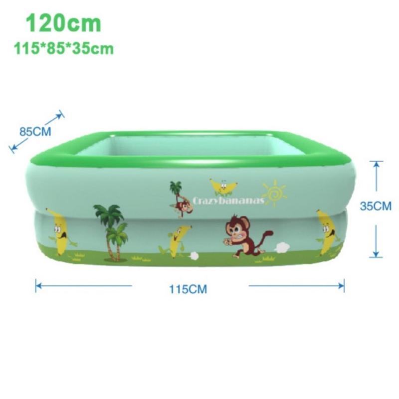 Bể bơi phao 2 tầng SQUARE SPOOL
