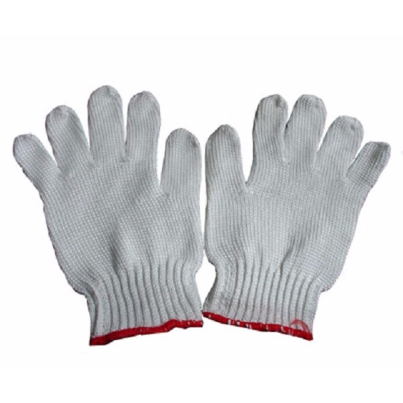 Bộ 10 Bao tay len bảo hộ lao động ( Loại dày 50g/đôi ) - Huy Tưởng
