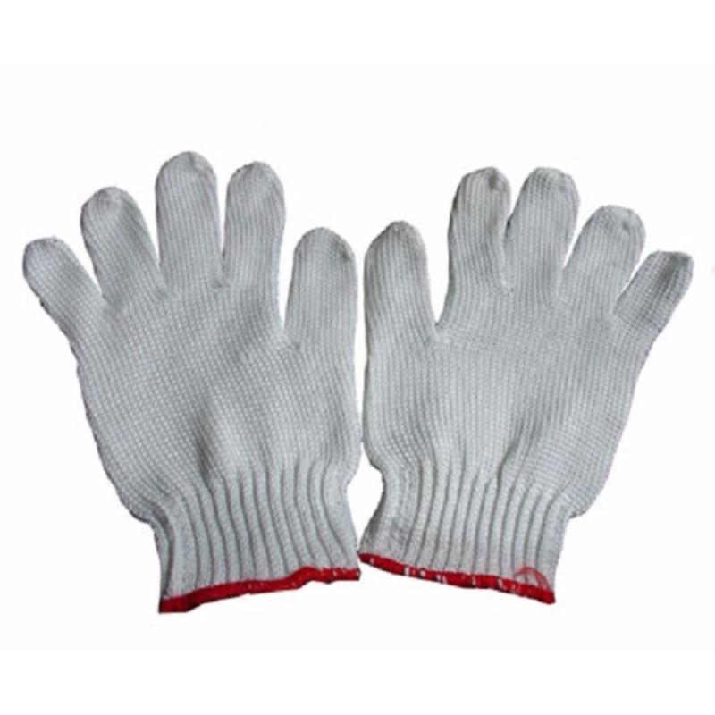 Bộ 5 Bao tay len bảo hộ lao động ( Loại dày 50g/đôi ) - Huy Tưởng