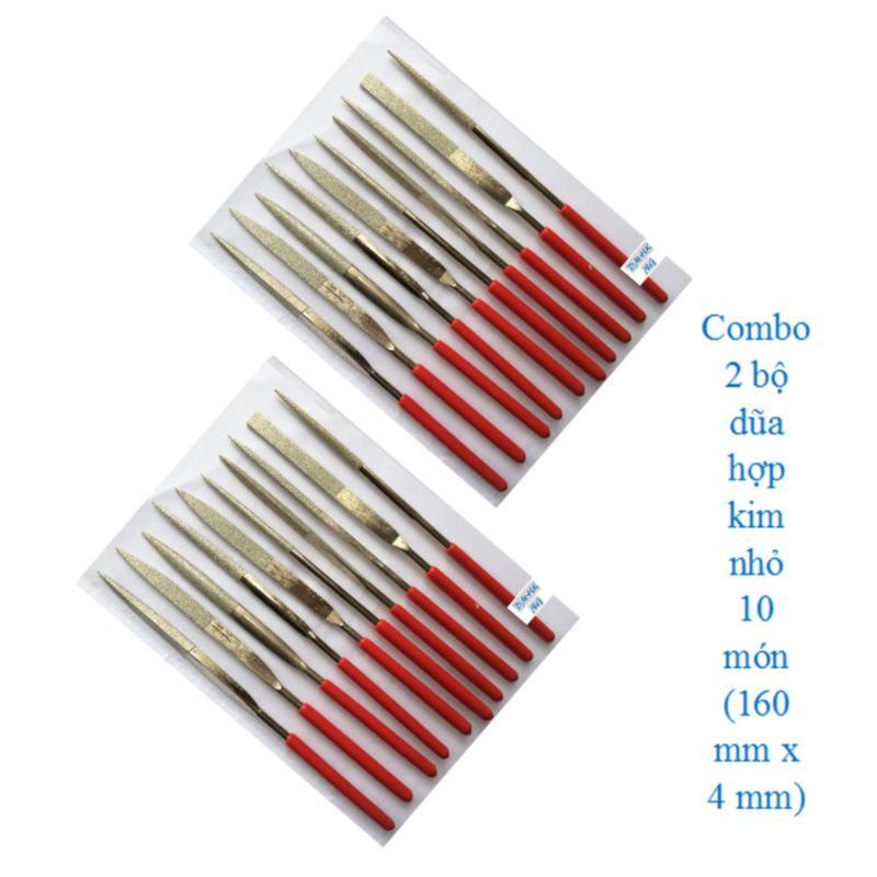 Combo 2 bộ dũa hợp kim 10 món 4 x 160 mm