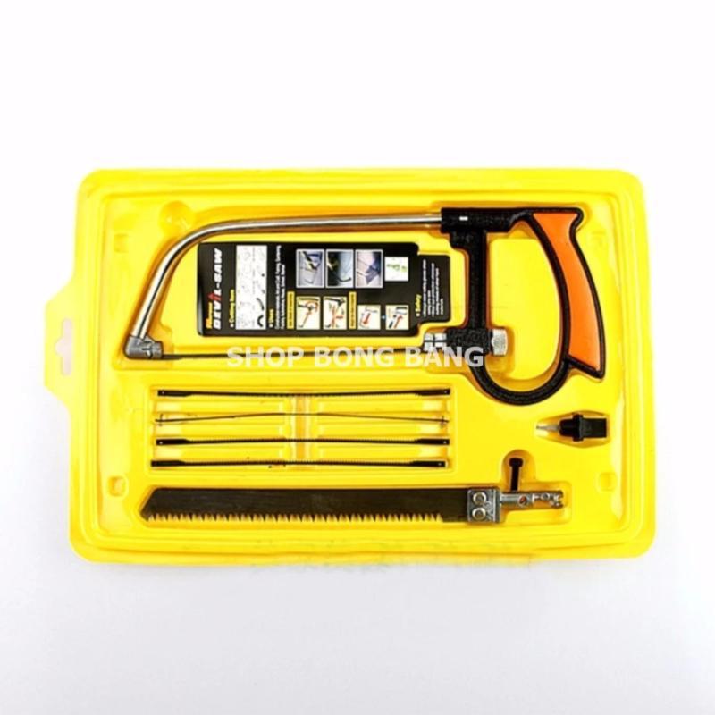 Cưa mini 8 món cầm tay cho gia đình BB1211 + tặng miếng thép 11 chức năng