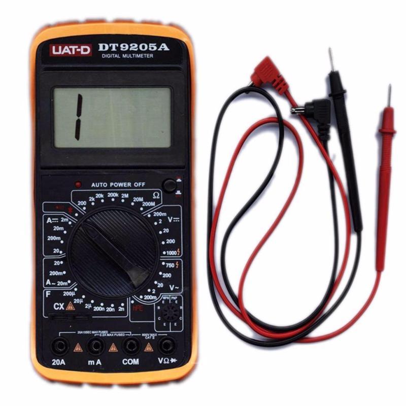 Đồng hồ đo vạn năng Digital UAT-D DT9205A +1 bút thử điện