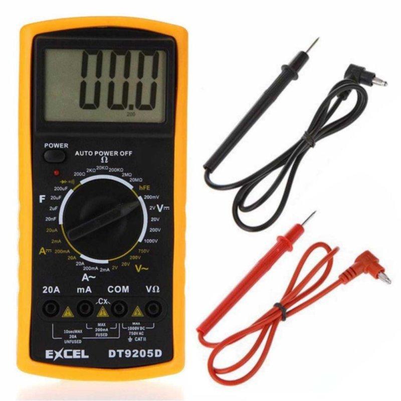 Đồng hồ đo vạn năng Excel DT9205D Loại tốt