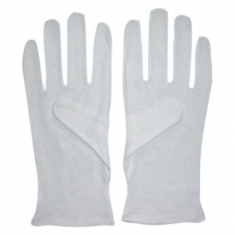 Găng tay Cotton màu trắng