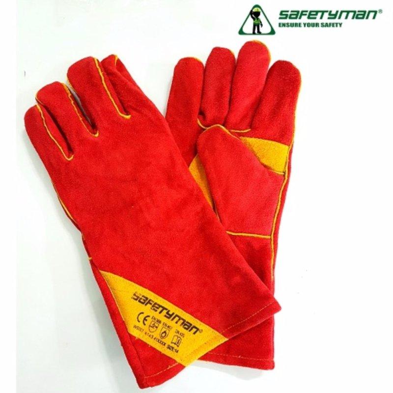 Găng tay da thợ hàn Safetyman WS601