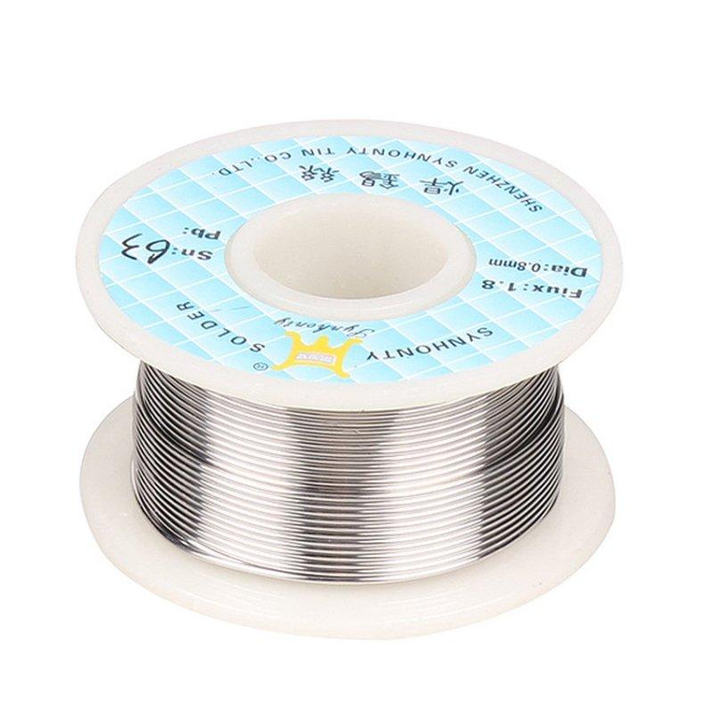 HKS New 63/37 Roll Tin Lead Rosin Core Soldering Solder Wire Reel - intl