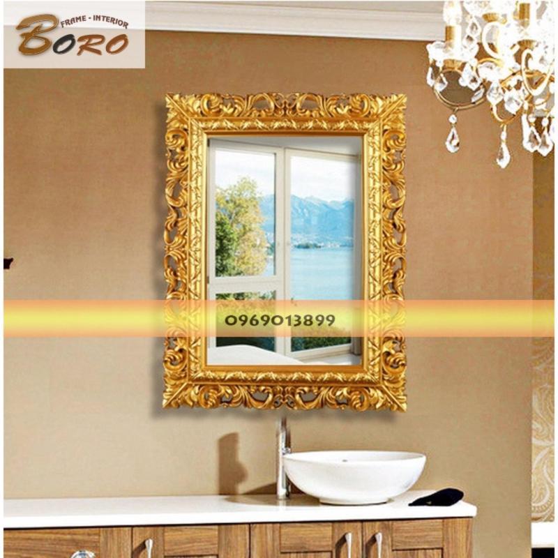 Khung gương Châu Âu BR009-2 (vàng cổ)