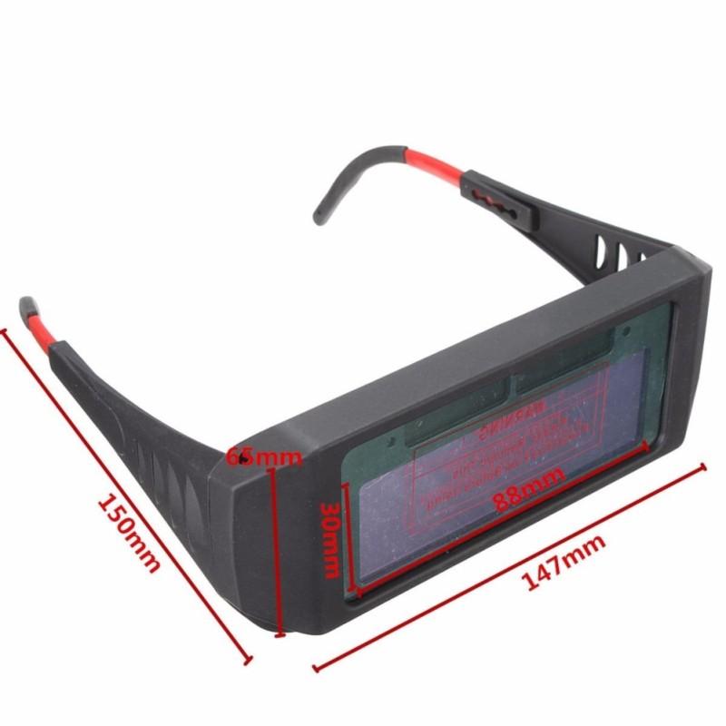 Mặt nạ hàn điện -  Kính hàn điện tử có mặt kính CHỐNG VA ĐẬP tuyệt vời - Bảo hành 1 đổi 1 bởi ALI247