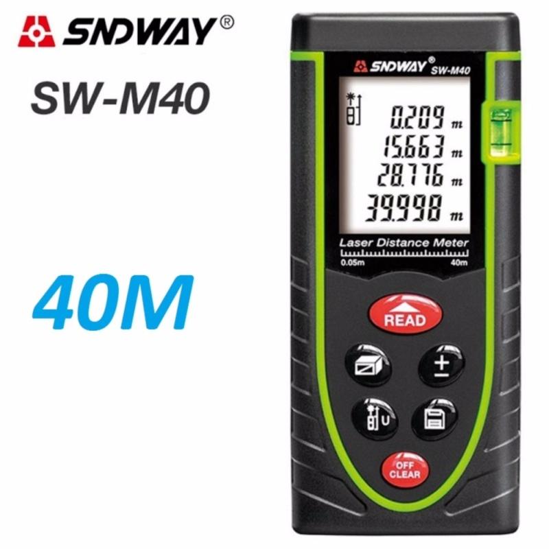 Máy đo khoảng cách bằng tia laser SNDWAY SW-M40 cự ly 40m GX-688A