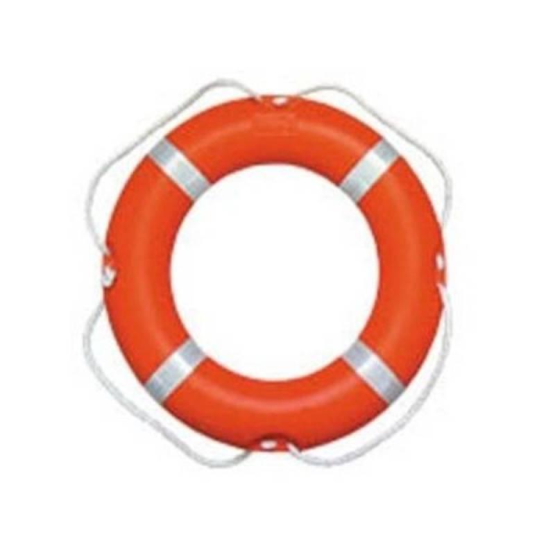 Phao Bơi Trong Nhựa Màu Cam-Trắng GA-P4