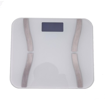 Smart Scale Digital Bathroom Bluetooth4.0 APP Electronic Body FatScale - intl