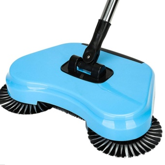 Spin Hand Push Broom Household Floor Dust Cleaning Sweeper Mop No Electricity - intl