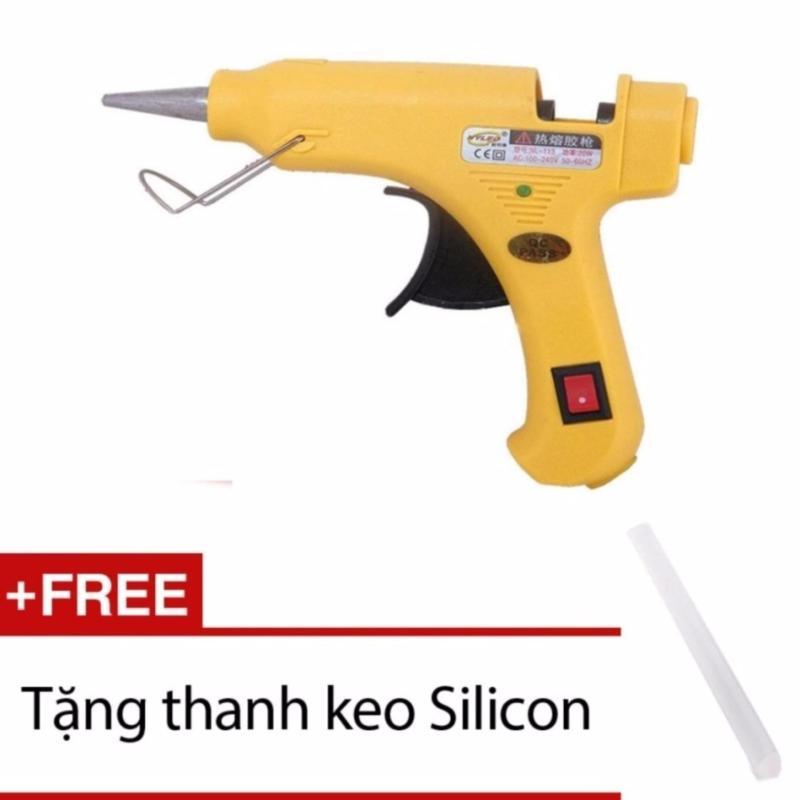 Súng bắn keo silicon LVTech NyLeo 20W + Tặng 1 thanh keo silicon