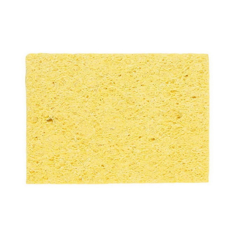 Velishy Yellow Soldering Iron Tip Welding Cleaning Cleaner Sponge for HAKKO 936 10Pcs - intl