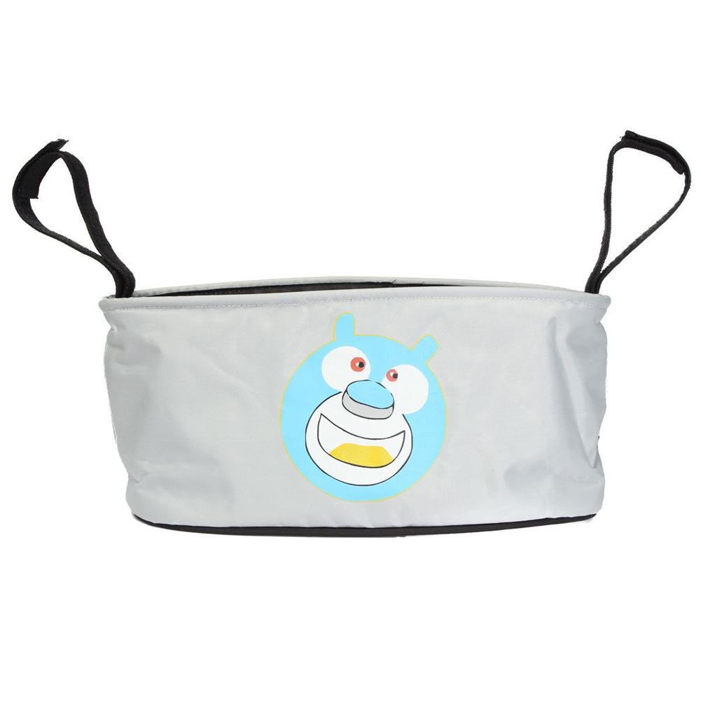 Baby Stroller Bottle Diaper Storage Bag Bear Pattern - intl