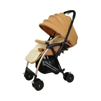 Babybum - Xe đẩy 2 chiều siêu nhẹ Harrods (Vàng)