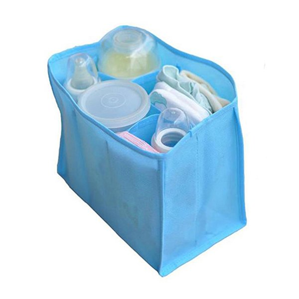 Bluelans Mother Bag Large Travel Nappy Bag For Storage Baby Diaper Nappies Blue Size M (Intl)