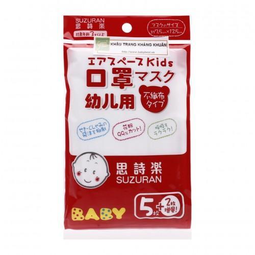 Bộ 2 Khẩu trang giấy kháng khuẩn Suzuran Sanitary