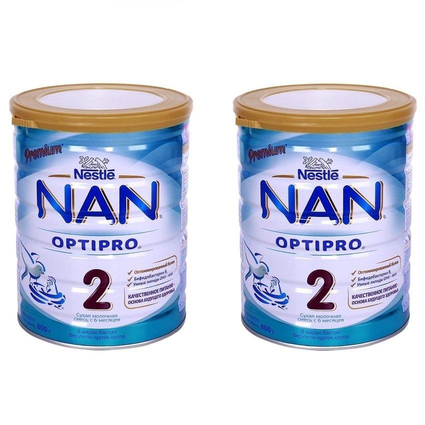 Bộ 2 Sữa Nan số 2 800g
