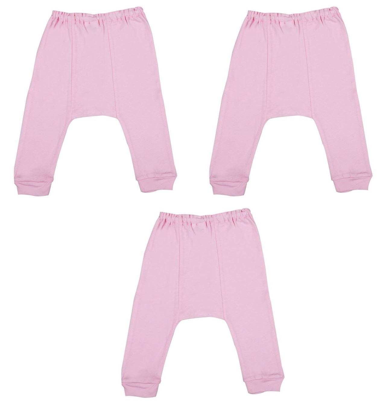 Bộ 3 quần lửng đóng bỉm ILUMINO Size 70 (Hồng sen)