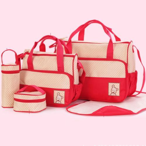 Bộ túi đựng đồ 5 chi tiết cho mẹ và bé