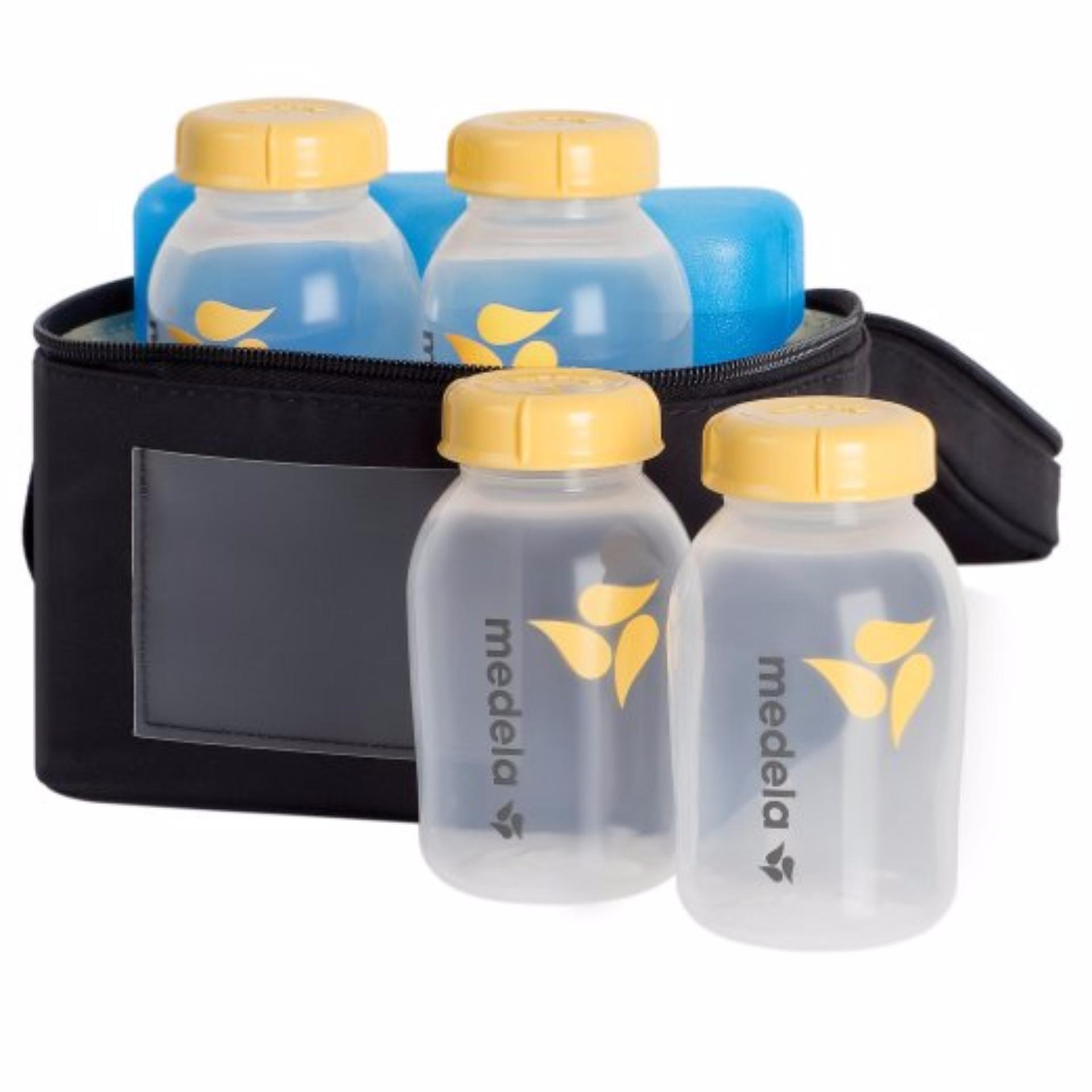 Bộ túi giữ lạnh sữa Medela(Vàng)