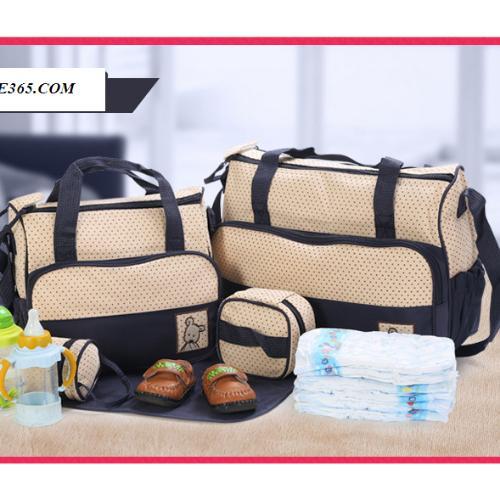 Bộ túi xách cho mẹ và bé 5 chi tiết