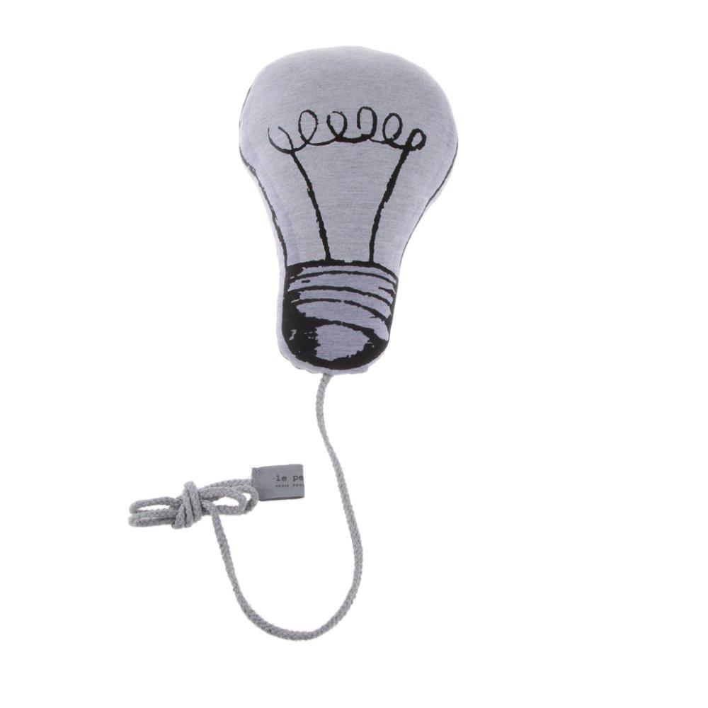 BolehDeals Luminous Lamp Bulb Cushion Baby Comforter Toy Home Decor Glow In The Dark - Intl