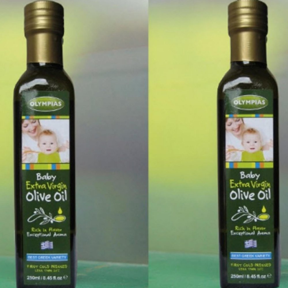 Dầu Vitamin Oliu Baby Extra Virgin Olympias 250ml .