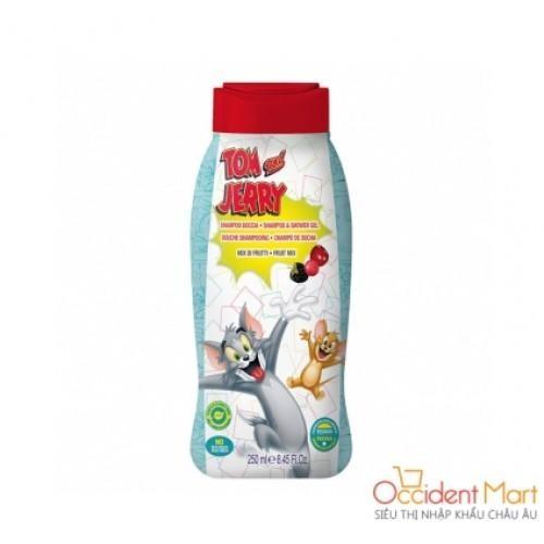 Gel tắm gội trẻ em hương trái cây Tom và Jerry 250ml