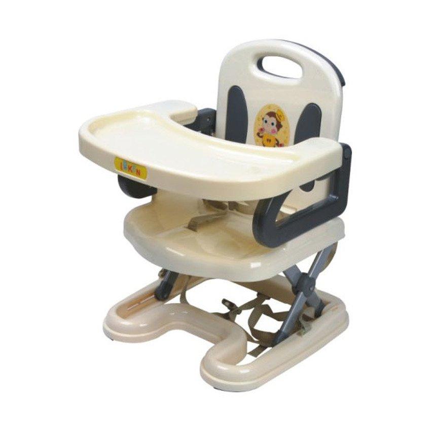 Ghế nhựa cao cấp ngồi tập ăn dặm cho bé Baby (Ghi Xám)