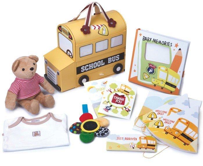 Gói quà tặng cho bé Gifthings Yellow School Bus
