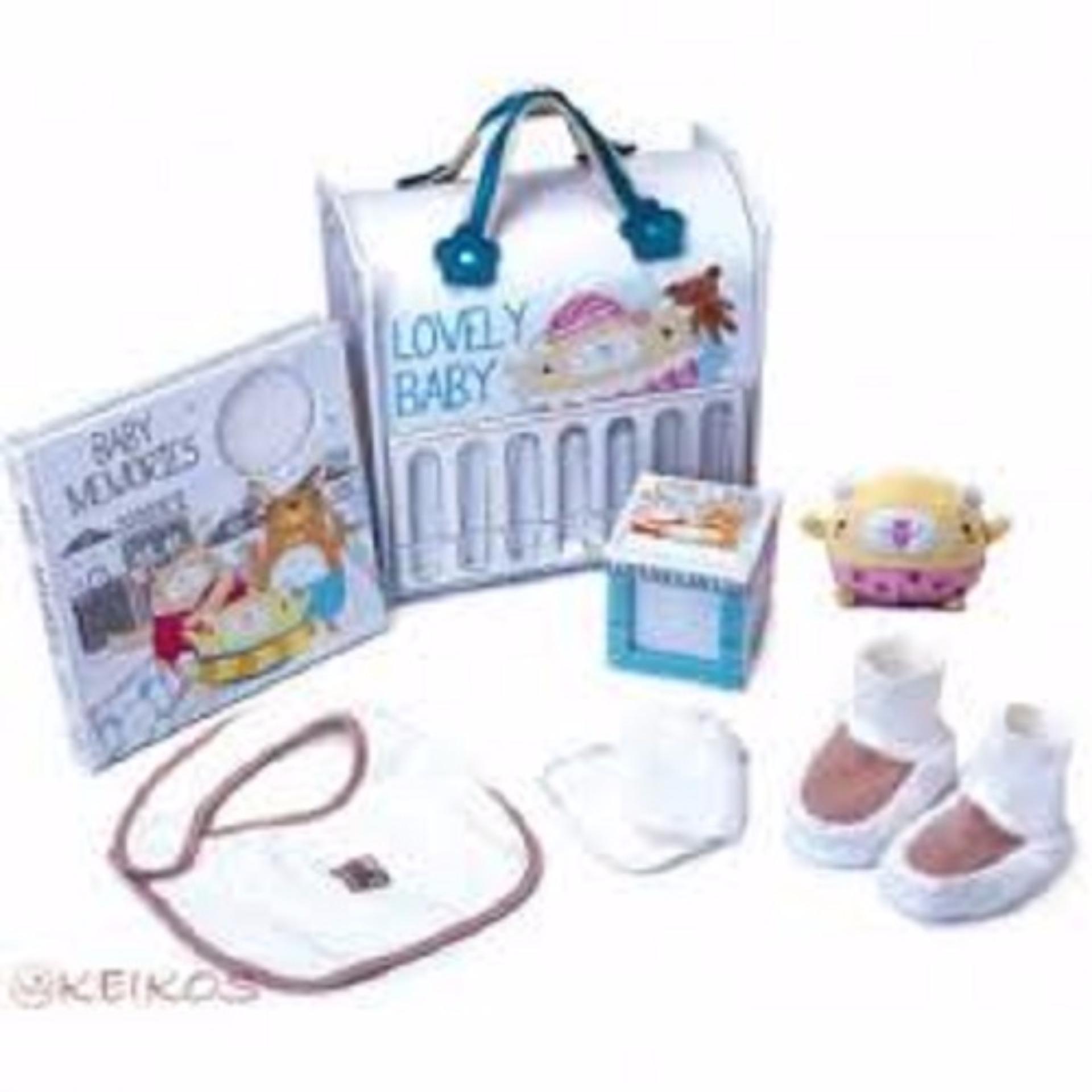 GT Gói quà tặng cho bé Gifthings - Dear Bunny (1 quyển album hình + 1 hộp lưu niệm Tiny + 1 chú thỏ nhồi bông + 1 đôi găng tay +