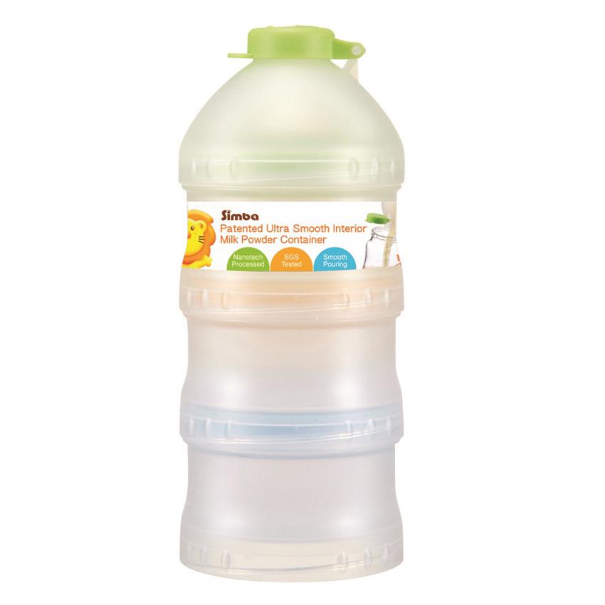 Hộp chia sữa 4 ngăn Simba (Trắng)